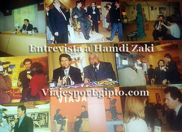 📰 Entrevista de radio a Hamdi Zaki, ex-Consejero de Turismo de Egipto