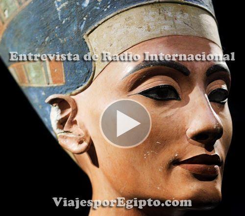 📰 Entrevista de radio sobre la posible tumba de Nefertiti