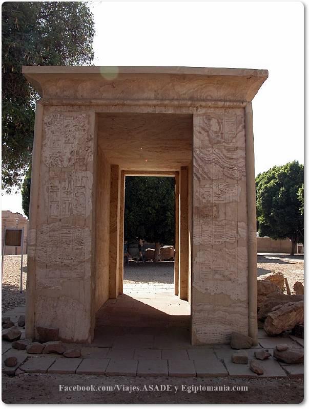 📷 Capilla Blanca de Amenhotep I