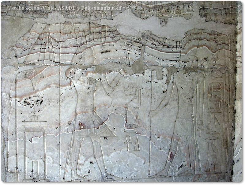 📷 Escena de la Capilla Blanca de Amenhotep I
