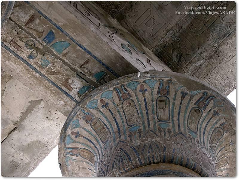 📷 Capitel del Ramesseum