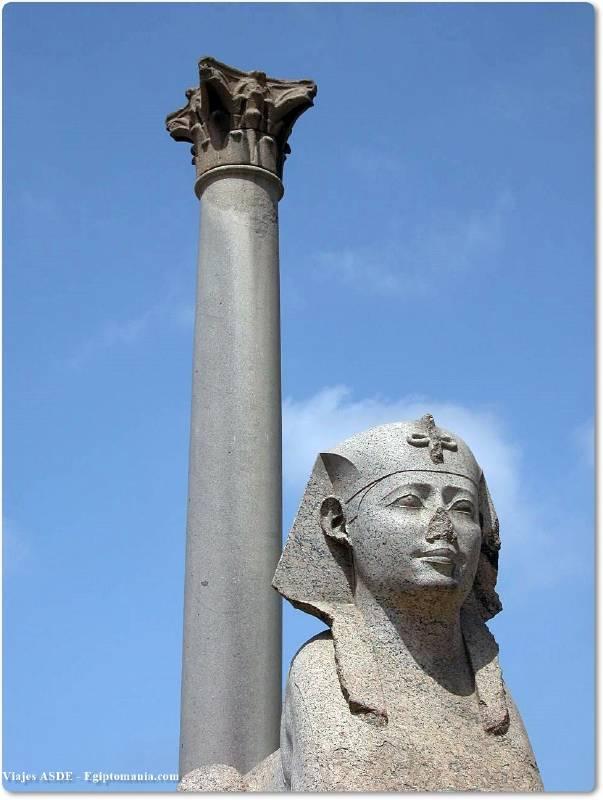 📷 Columna de Pompeyo