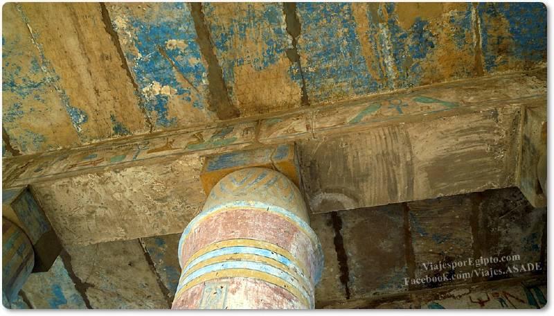 📷 Columnas del Ajmenu de Tutmosis III