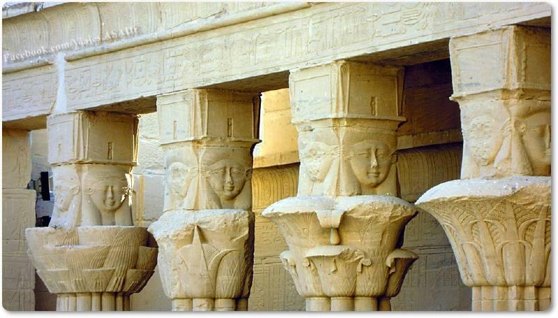 📷 Columnas del Templo de File