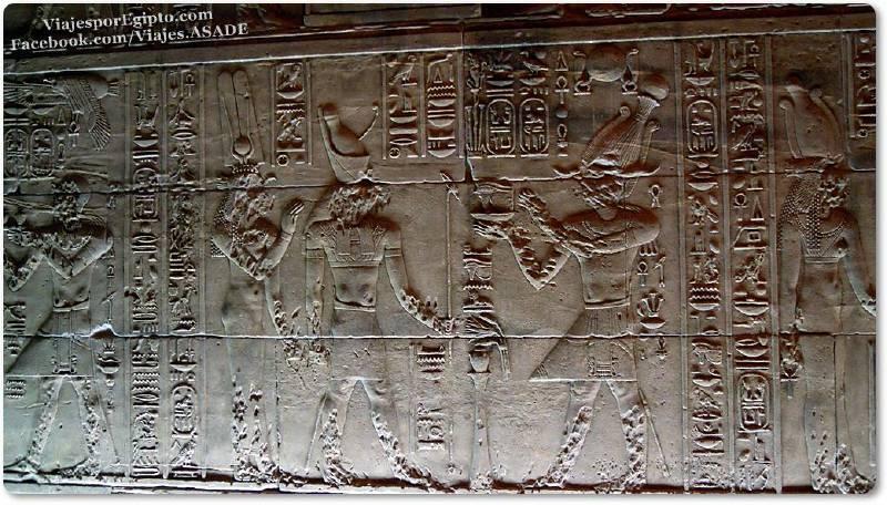 📷 Escena del Templo de Isis en File