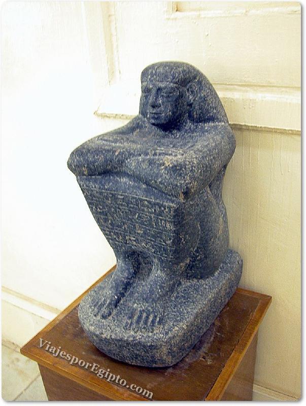 📷 Estatua Cubo del Museo de Jarga