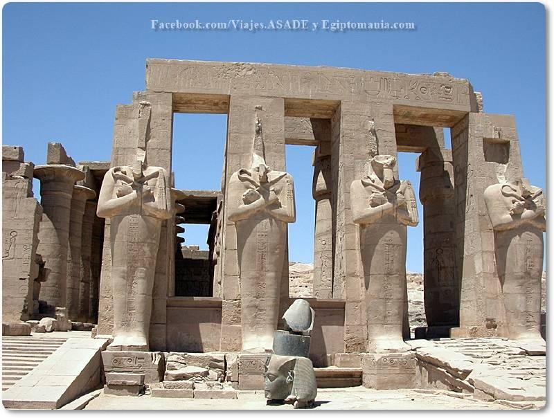📷 Estatuas del Ramesseum