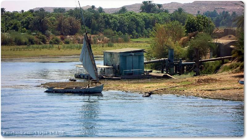 📷 Faluca o barca del Nilo