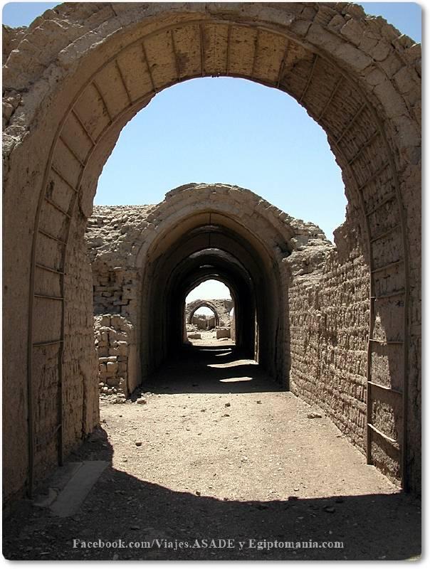 📷 Graneros del Ramesseum