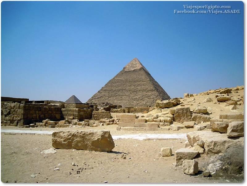 📷 Campo de mastabas de la Pirámide de Kefrén