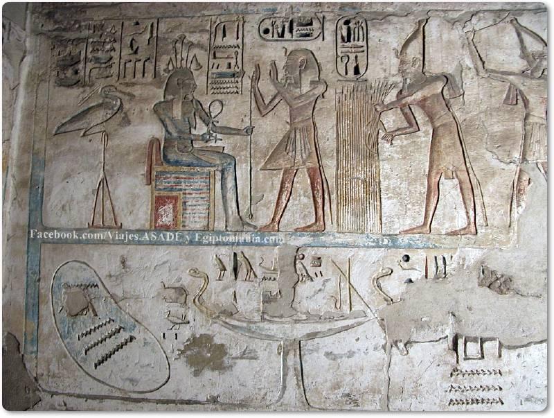 📷 Ramsés y Hapy en Medinet Habu