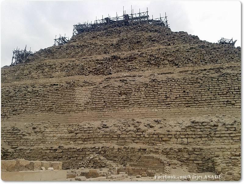 📷 Pirámide Escalonada de Zoser
