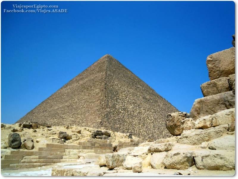 📷 Gran Pirámide de Keops-Jufu