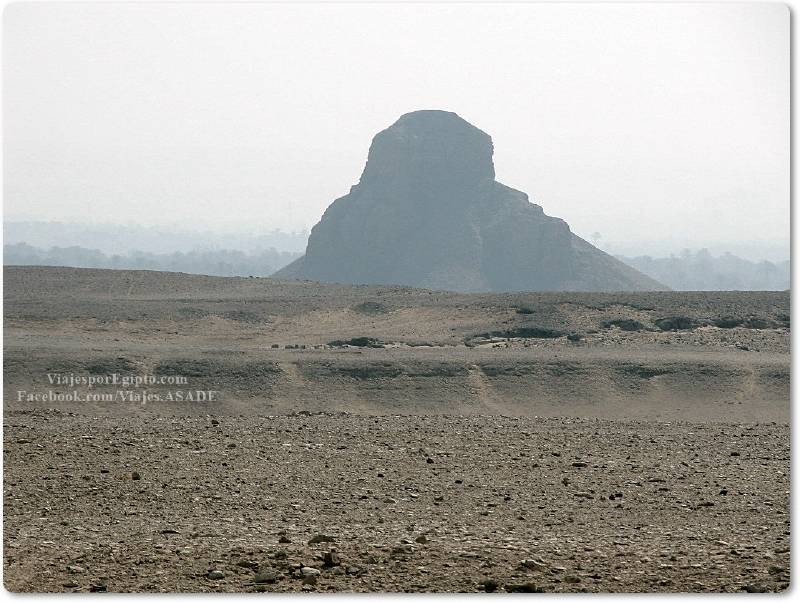 📷 Pirámide Negra de Amenemhat III