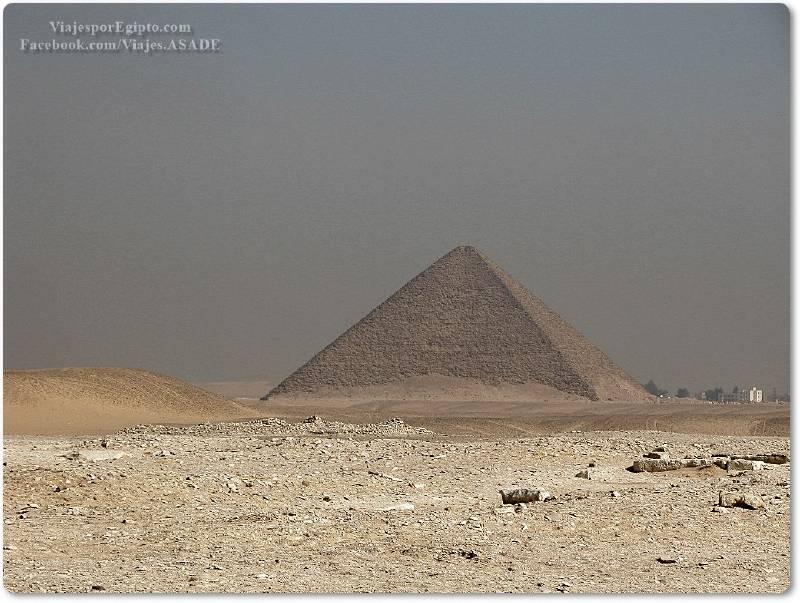📷 Pirámide Roja de Seneferu