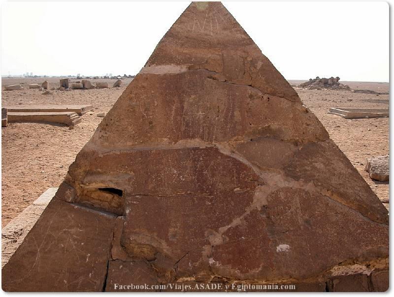 📷 Piramidión de la Pirámide Roja