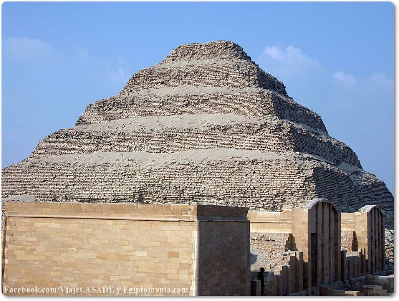 📷 Pirámide Escalonada de Zoser/Dyeser