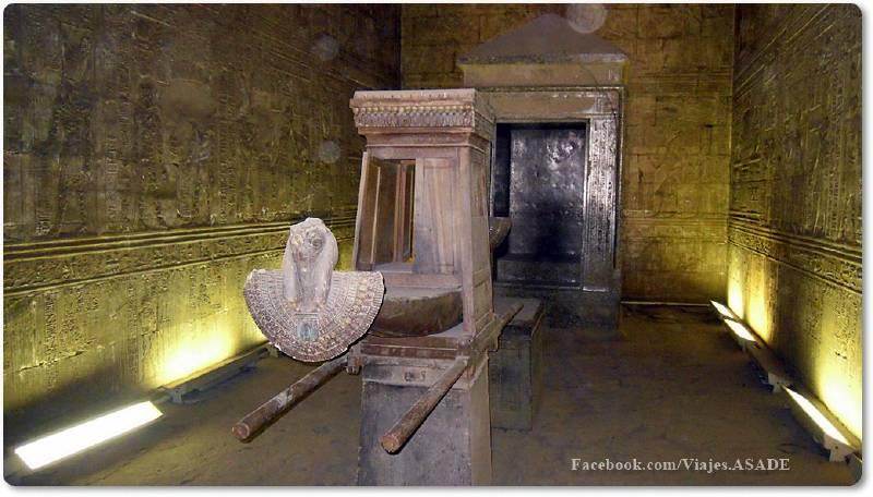📷 Sagrario del Templo de Edfú