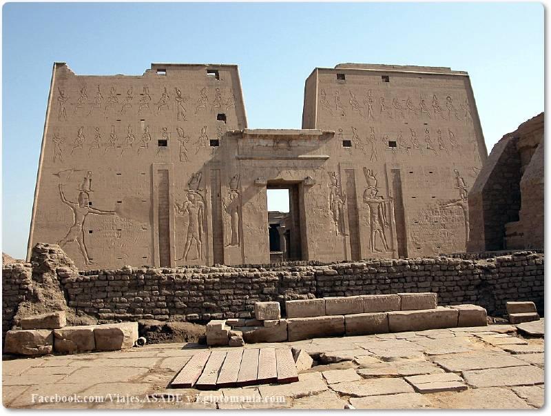 📷 Templo de Horus en Edfú
