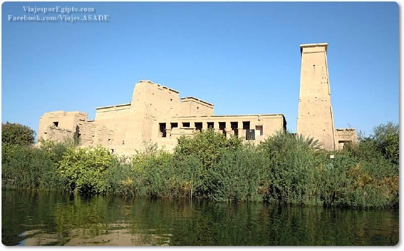 📷 Templo de Isis en File o Philae