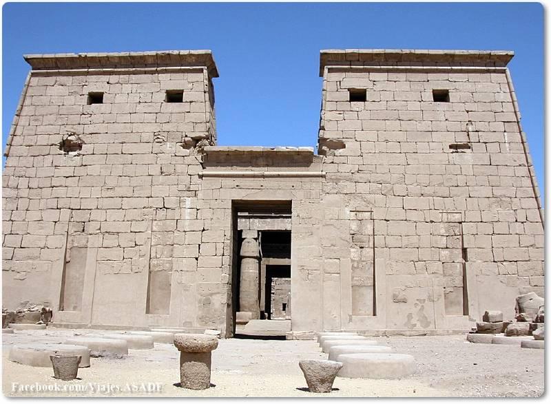 📷 Templo de Jonsu en Karnak