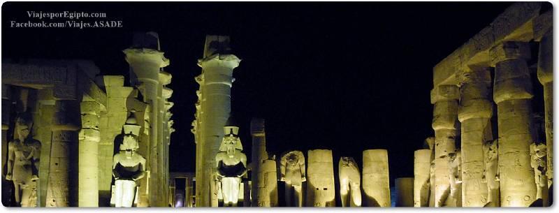 📷 Templo de Lúxor nocturno