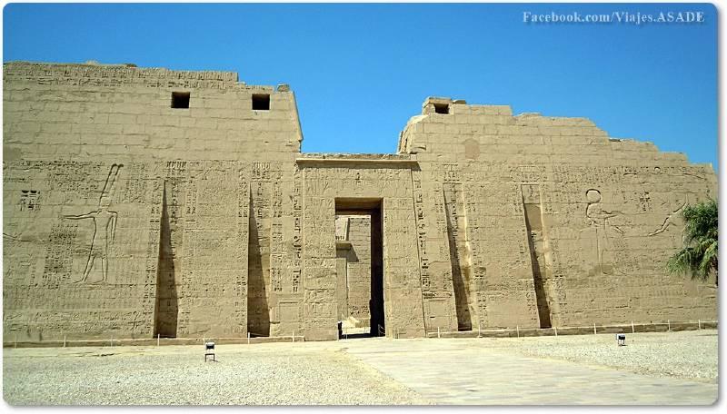 📷 Templo de Medinet Habu
