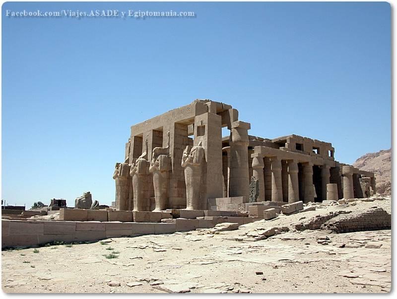 📷 Templo del Ramesseum