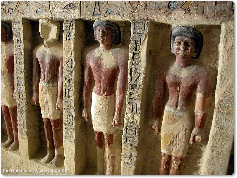 📷 Tumba de los Carniceros o Mastaba de Irukaptah