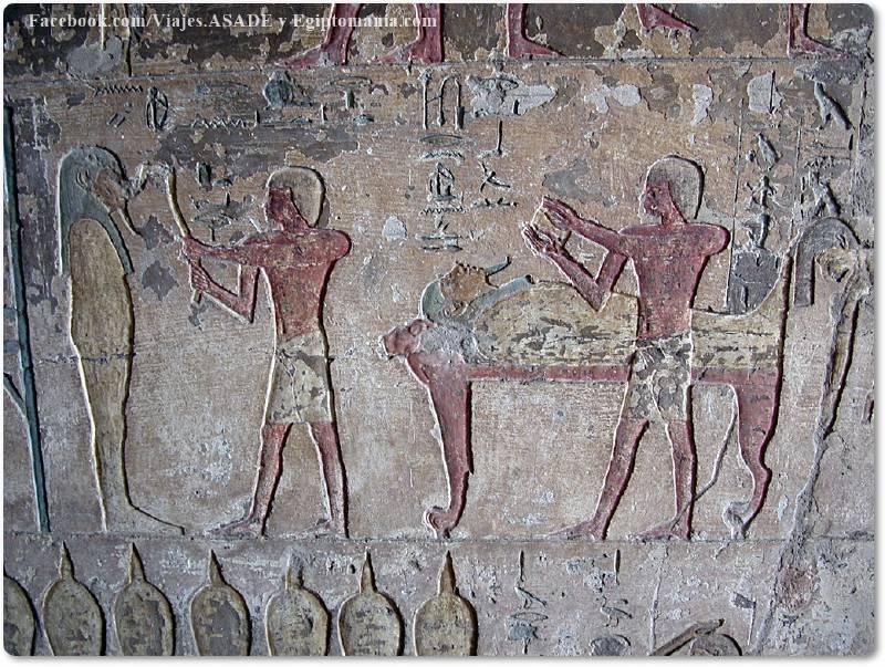 📷 Momificación en Tumba de El Kab