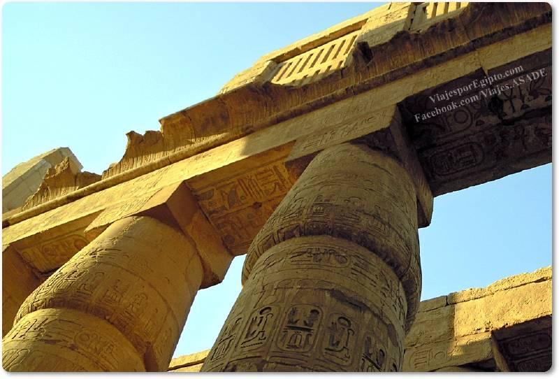 📷 Ventanas en Karnak