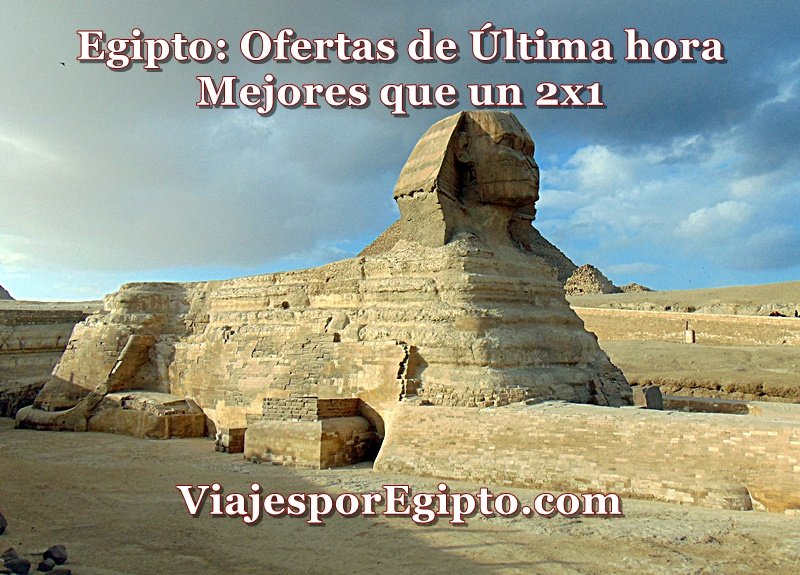 Viajes a Egipto Baratos ⇒ Chollos Mejores que un 2x1