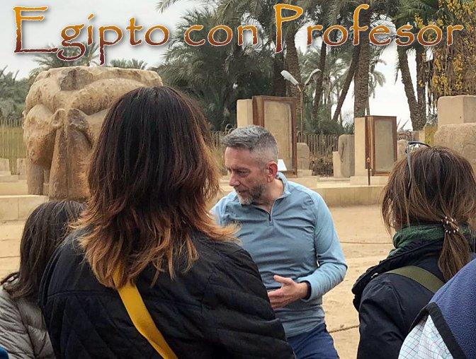 Viaje a Egipto en Semana Santa con Profesor