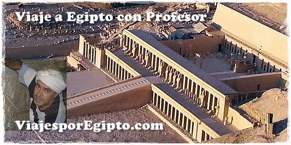 Viajes a Egipto con Profesor de la ASADE