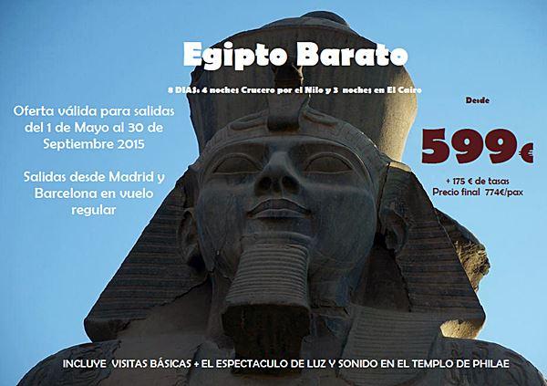 🚢 Viajes a Egipto en Mayo y Junio