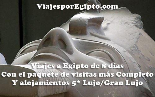 🚢 Viajes a Egipto Δ al Completo ⇒ Octubre y Noviembre