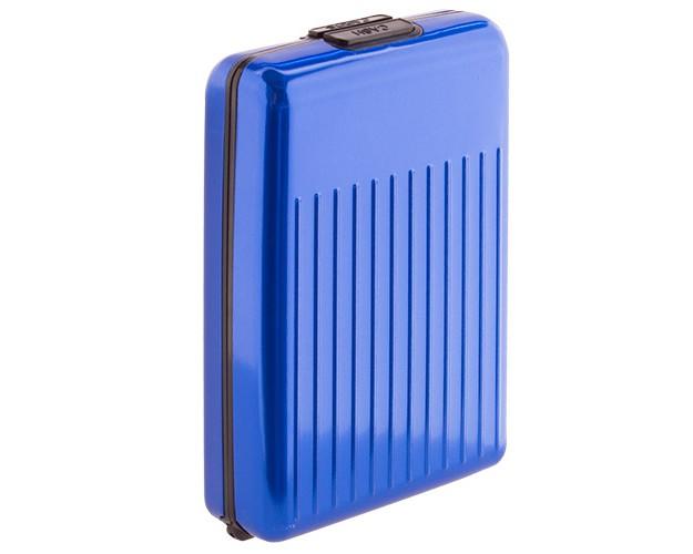 Cartera de Aluminio All In 1 Azul