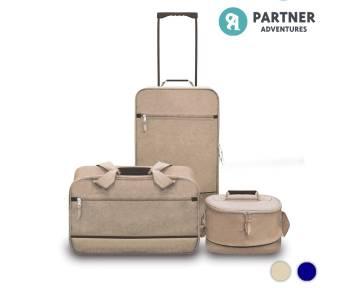 Set de Viaje Partner Adventures 3 Piezas Sahara