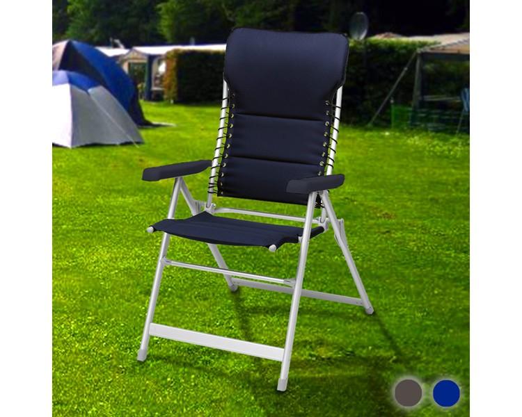 Silla Plegable Campart Travel Azul Marino